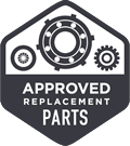approved replacement parts